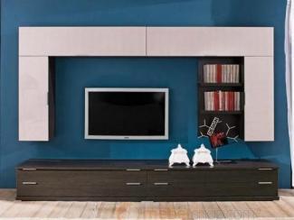 Гостиная стенка белый глянец - Изготовление мебели на заказ «Мега»