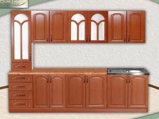 Кухня прямая Лилия 4 (МДФ) - Мебельная фабрика «Элна»