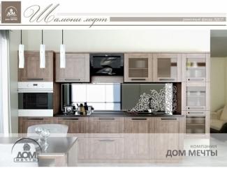 Кухня Шамони лофт - Мебельная фабрика «Дом мечты»