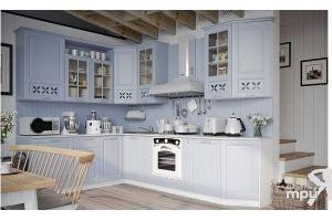 Модульная кухня Скай (Голубой) - Мебельная фабрика «ТриЯ»