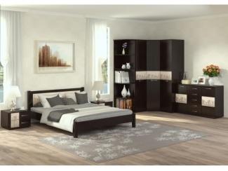 Спальня Милания - рисунок Европа - Мебельная фабрика «БелДревМебель»