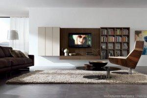 Стеллаж для гостиной  Бруна - Мебельная фабрика «Триана»