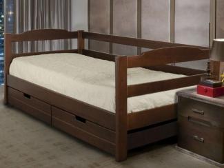 Кровать Скай 5 массив бука - Мебельная фабрика «Диамант-М»