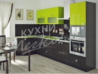 Простая угловая кухня  - Мебельная фабрика «СтолБери», г. Санкт-Петербург
