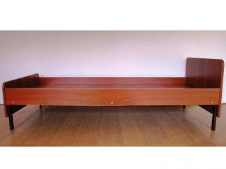 Кровать ЛДСП односпальная Крв-Л1.00 - Мебельная фабрика «Эксперт»