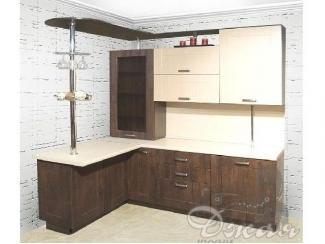 Небольшая кухня с барной стойкой - Мебельная фабрика «Джая»