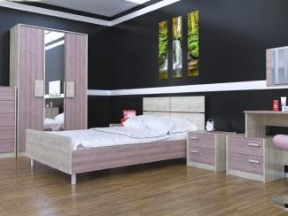Спальный гарнитур Ванесса 1 - Мебельная фабрика «Элна»