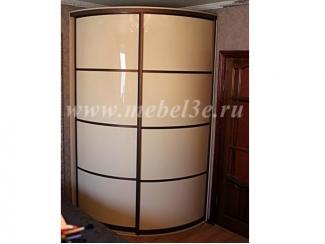 Встроенный радиусный шкаф - Мебельная фабрика «ТРИ-е»