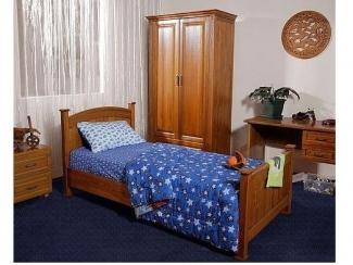 Гарнитур с односпальной кроватью Флагман