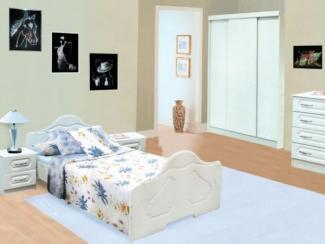 спальный гарнитур Азалия 2 набор 1 - Мебельная фабрика «Долес»