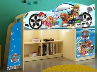 Детская кровать  Щенячий патруль модель 1 - Мебельная фабрика «ПМК ВиП»