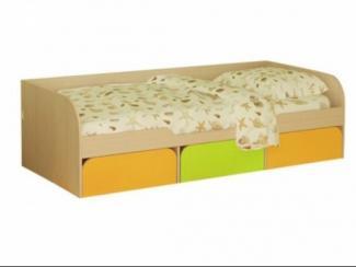 Кровать детская Сити 4.1 - Мебельная фабрика «Мезонин мебель»