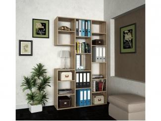 Стеллаж для гостиной  Рикс  - Мебельная фабрика «Мастер»