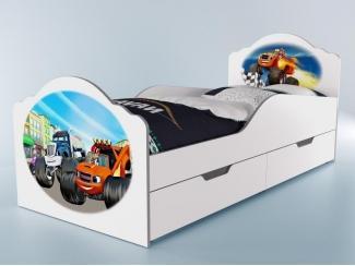 Детская кровать Вспыш  - Мебельная фабрика «GRIFON»