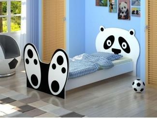Кровать Панда с бязевым матрацем