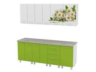 Кухонный гарнитур прямой Фотопечать - Мебельная фабрика «Премиум»