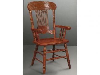 Стул резной с подлокотниками Кантри - Импортёр мебели «МебельТорг»