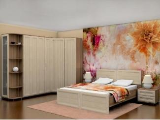 Спальный гарнитур с угловым шкафом - Мебельная фабрика «Нижнетагильская мебельная фабрика»