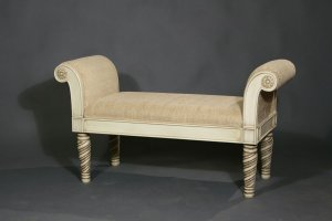 Банкетка 100220 слоновая кость - Мебельная фабрика «Санта Лучия»