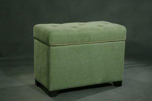 Банкетка 300180 зеленый - Мебельная фабрика «Санта Лучия»