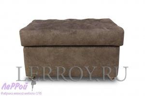 Банкетка большая коричневая - Мебельная фабрика «ЛеРРой»