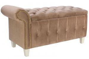 Банкетка Classic-Б2 бежевый/слоновая кость - Мебельная фабрика «Мебелик»