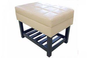 Банкетка для прихожей с полочкой - Мебельная фабрика «ПримФ»