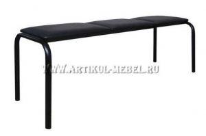Банкетка гнутая 3М - Мебельная фабрика «Артикул-Мебель»