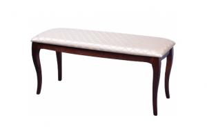 Банкетка из массива Версаль 5 - Мебельная фабрика «Декор Классик»
