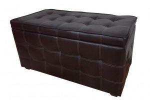 Банкетка Каприз черная - Мебельная фабрика «ПанДиван»