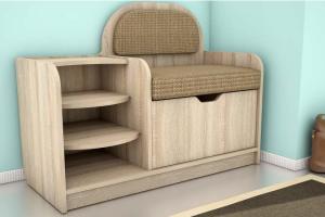 Банкетка Маэстро тип 4 - Мебельная фабрика «Алсо»