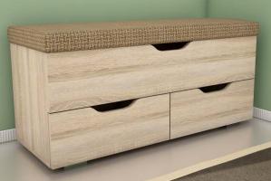 Банкетка Маэстро тип 6 - Мебельная фабрика «Алсо»