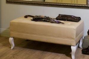 Банкетка на деревянных ножках - Мебельная фабрика «Wood&Wool»