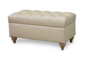 Банкетка Неаполь с каретной стяжкой - Мебельная фабрика «Рось»