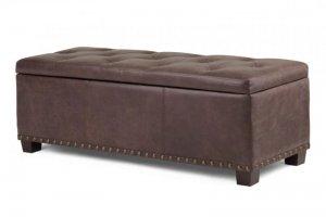 Банкетка прикроватная Maх в спальню - Мебельная фабрика «Фристайл»