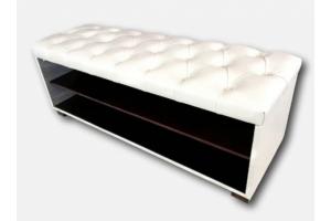 Банкетка с каретной стяжкой - Мебельная фабрика «Вип-Андри»