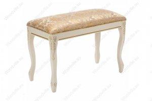 Банкетка Валентино патина золото 309320 - Импортёр мебели «Woodville»