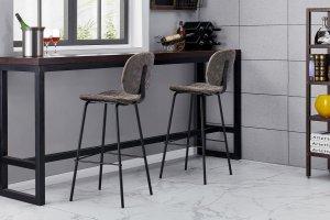 Барный стул CQ 5397 grey - Импортёр мебели «Евростиль (ESF)»