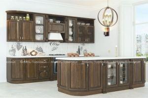 Кухня с островом Барон - Мебельная фабрика «Мебель Поволжья»