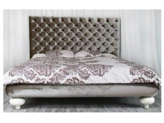 Кровать с высоким изголовьем Grande Letto - Мебельная фабрика «SoftWall»