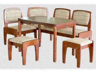 обеденный гарнитур Трапеза М Люкс 2 - Мебельная фабрика «Боринское»