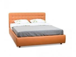 Кровать Афетто двуспальная экокожа - Мебельная фабрика «МВК»