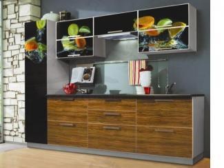 Кухонный гарнитур прямой Лайф2 - Мебельная фабрика «Фарес»