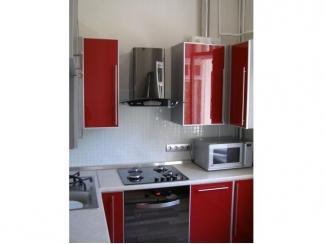 Красная кухня Орвис - Мебельная фабрика «Орвис»