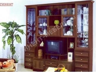 Гостиная стенка с ящиками Марина 6  - Мебельная фабрика «Континент-мебель»