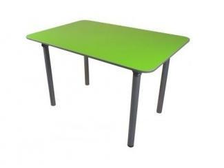Зеленый обеденный стол Санта ЛДСП - Мебельная фабрика «Металл конструкция»