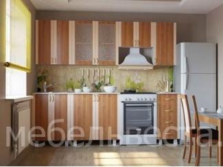 Кухонный гарнитур Александра в цвете ольха - Мебельная фабрика «Веста»