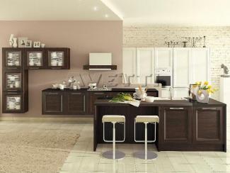 Кухня Альба венге - Мебельная фабрика «Avetti», г. Волгодонск