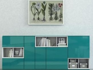 Гостиная стенка Sibox B005 - Мебельная фабрика «Астрон»