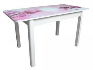 Обеденный стол Айсберг-02 СТ со стеклом и фотопечатью